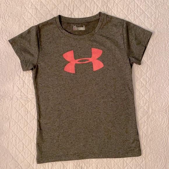 Under Armour Heat Gear Dark Heather Gray T-Shirt